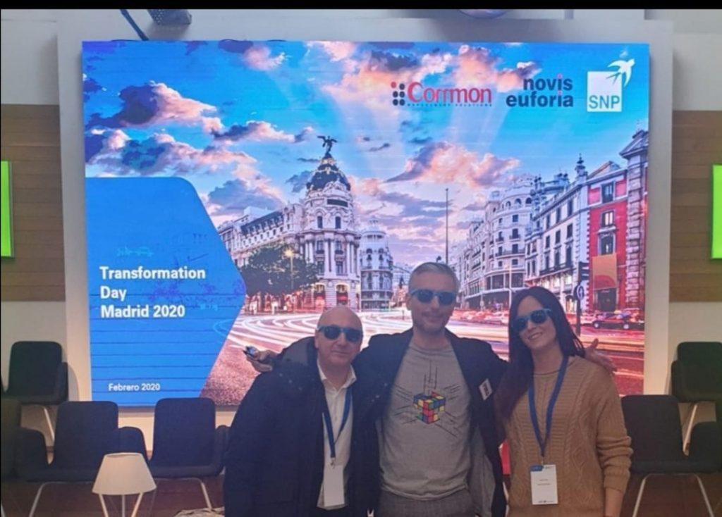 Mr Bluefield Tranformation Day Madrid 2020